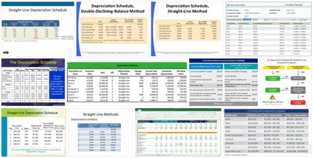 Scheduled Depreciation